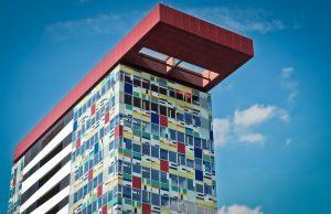 colourful office building