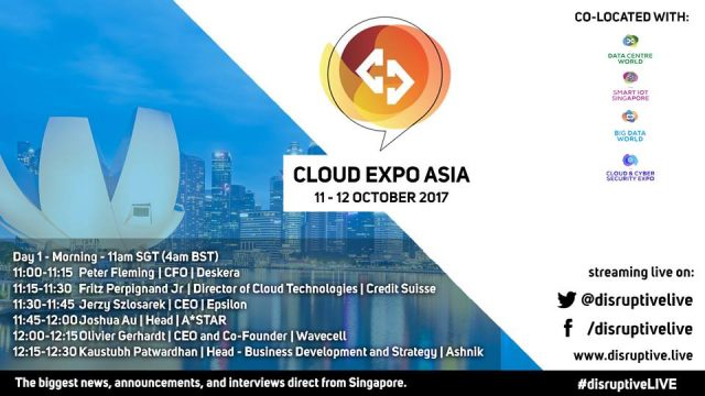 Cloud Expo Asia - Day 1
