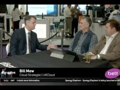 Bill Mew - UKCloud - Bett Show - #DisruptiveCIF