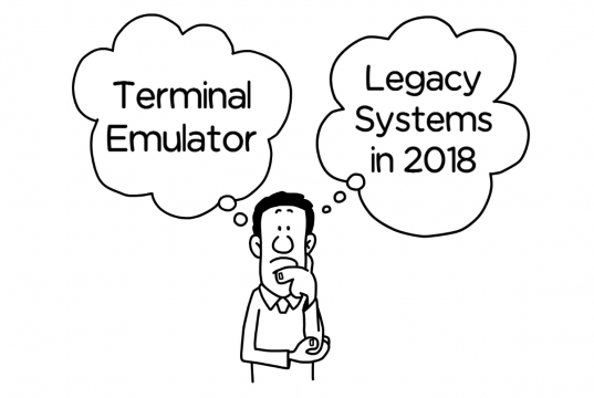 Legacy systems in 2018. What makes the best Terminal Emulator?
