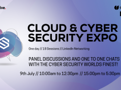 Cloud and Cyber Security Expo launch Techerati Live digital conference in partnership with Disruptive